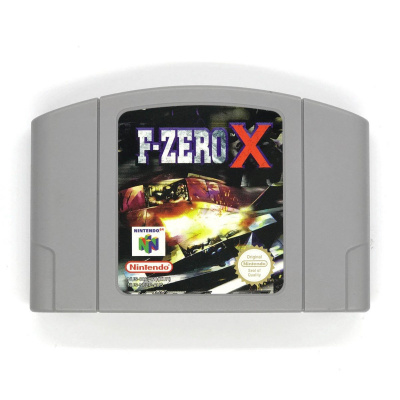 Foto van F-Zero X (Cartridge Only) N64