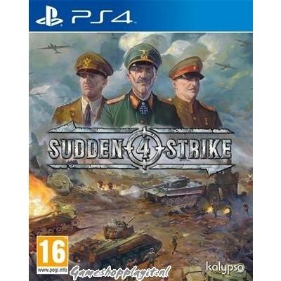 Foto van Sudden Strike 4 PS4