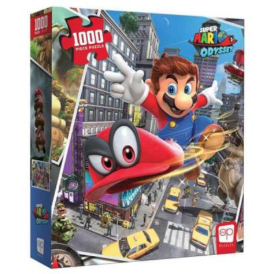 Super Mario Odyssey Snapshots Puzzle 1000pc PUZZEL