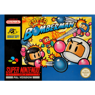 Foto van Super Bomberman SNES