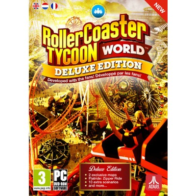 Foto van Rollercoaster Tycoon World Deluxe Edition PC
