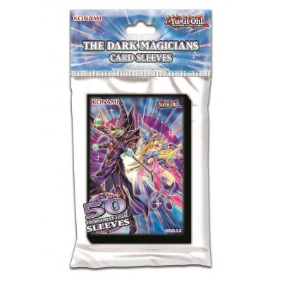 TCG Yu-Gi-Oh! The Dark Magicians Sleeves YU-GI-OH