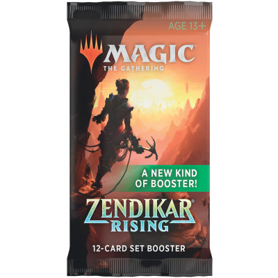 TCG Magic The Gathering Zendikar Rising Set Booster Pack MAGIC THE GATHERING