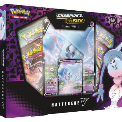 TCG Pokémon Champion's Path Collection - Hatterene V Box POKEMON