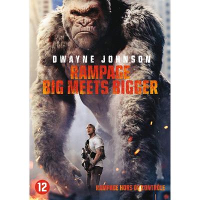 Foto van Rampage Big Meets Bigger DVD