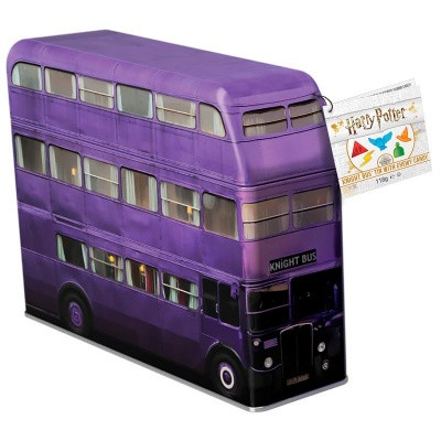Foto van Harry Potter Knight Bus Metal Money Box With Sweeties SNOEP