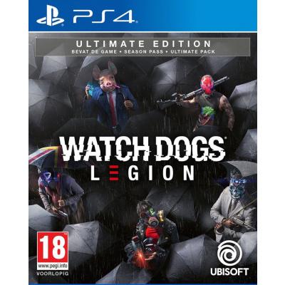 Foto van Watch Dogs: Legion - Ultimate Edition PS4