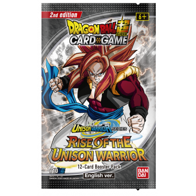 Foto van TCG Dragon Ball Rise Of The Unison Warrior Booster Pack B 10 (2nd Edition) DRAGON BALL