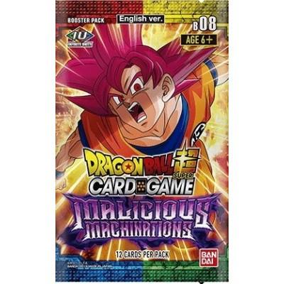 TCG Booster Pack Dragon Ball SCG Malicious Machinations DRAGONBALL