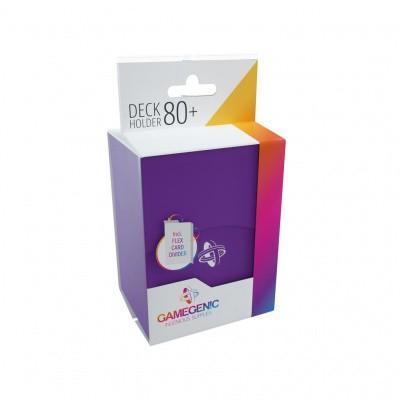 TCG Deckbox Deck Holder 80+ - Purple DECKBOX