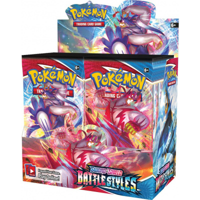 TCG Pokémon Sword & Shield Battle Styles Booster Box POKEMON