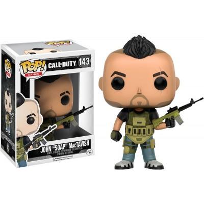 Foto van Pop! Games: Call Of Duty - John 'Soap' Mactavish FUNKO
