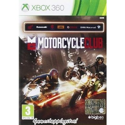 Motorcycle Club XBOX 360