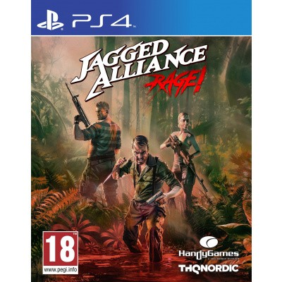 Foto van Jagged Alliance: Rage! PS4