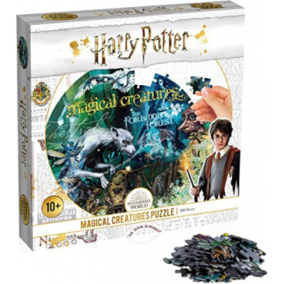 Harry Potter Magical Creatures Puzzle 500pc PUZZEL