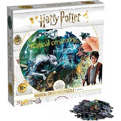 Foto van Harry Potter Magical Creatures Puzzle 500pc PUZZEL