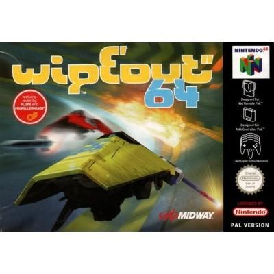 Foto van Wipeout 64 N64