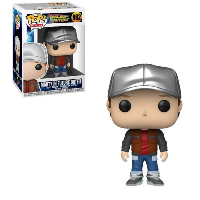 Foto van Pop! Movies: Back to the Future - Marty in Future Outfit FUNKO