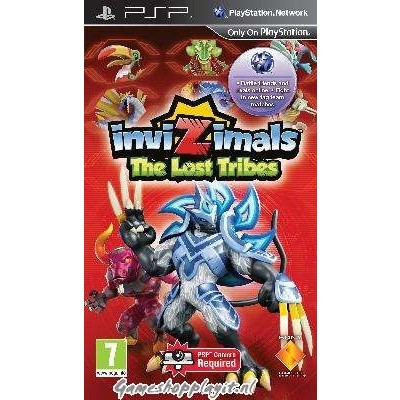 Invizimals The Lost Tribes PSP