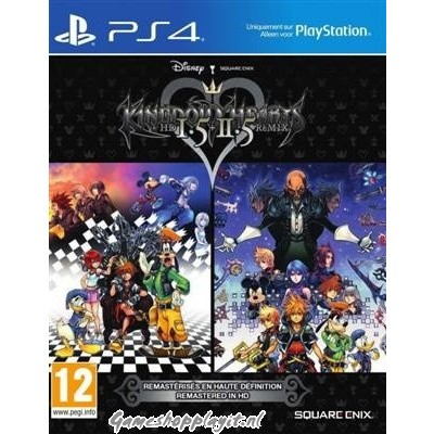 Kingdom Hearts Hd 1.5 + 2.5 Remix PS4