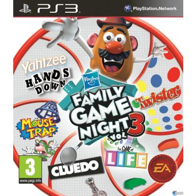 Hasbro Familie Spellen Avond 3 PS3