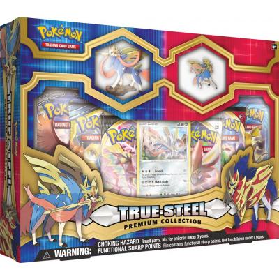 Foto van TCG Pokémon True Steel Premium Collection - Zacian POKEMON
