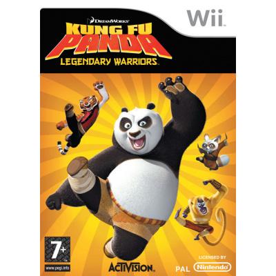 Foto van Kung Fu Panda Legendarische Krijgers WII