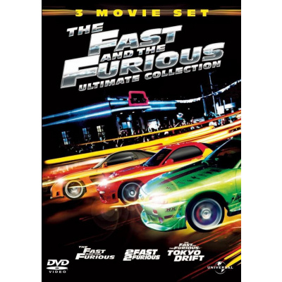 Foto van The Fast And The Furious Ultimate Collection (3 DVD Movie Set) DVD