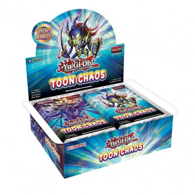 TCG Yu-Gi-Oh! Toon Chaos Booster Box - Unlimited Reprint YU-GI-OH