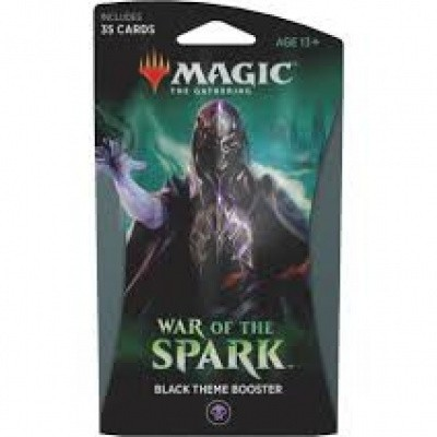 Foto van TCG Magic The Gathering Theme Booster - War Of The Spark Black MTG