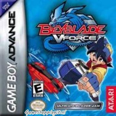 Foto van Beyblade V-Force Ultimate Blader Jam GBA
