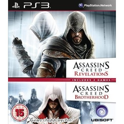 Foto van Assassin's Creed Double Pack Revelations + Brotherhood PS3