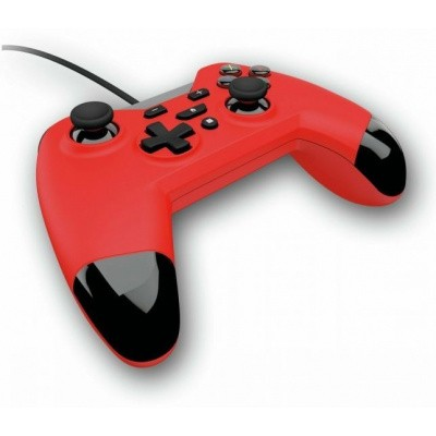 Foto van Gioteck WX4 Premium Wired Controller (Red) SWITCH