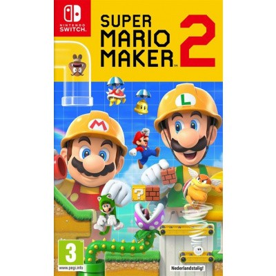 Foto van Super Mario Maker 2 SWITCH
