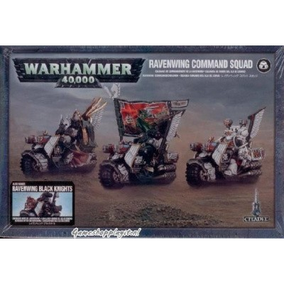 Foto van Ravenwing Command Squad Warhammer 40k