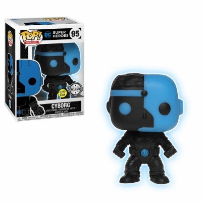 Foto van Pop! Heroes: DC Super Heroes - Cyborg Glow In The Dark Exclusive FUNKO