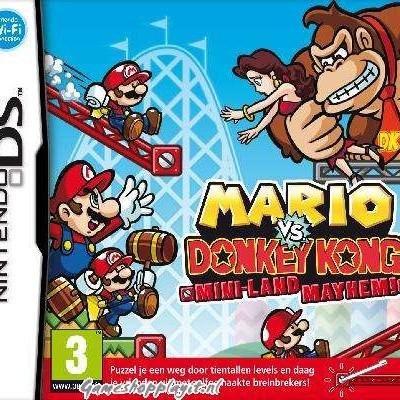 Mario Vs. Donkey Kong Mini-Land Mayhem! NDS