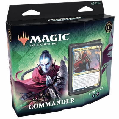 TCG Magic The Gathering Zendikar Rising Commander - Sneak Attack MAGIC THE GATHERING
