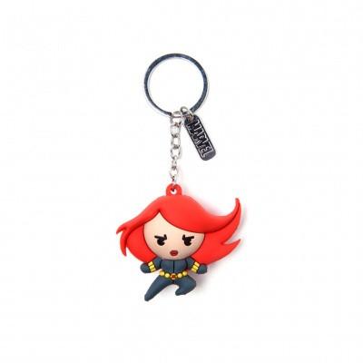 Foto van Marvel - Black Widow Kawaii 3D Rubber Keychain