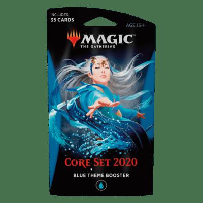 Foto van TCG Magic The Gathering Blue Theme Booster Core 2020 MAGIC THE GATHERING