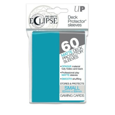 TCG Sleeves Pro-Matte Eclipse - Sky Blue (60 Sleeves) (Small Size) SLEEVES