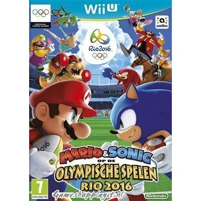 Mario & Sonic Op De Olympische Spelen Rio 2016 WII U