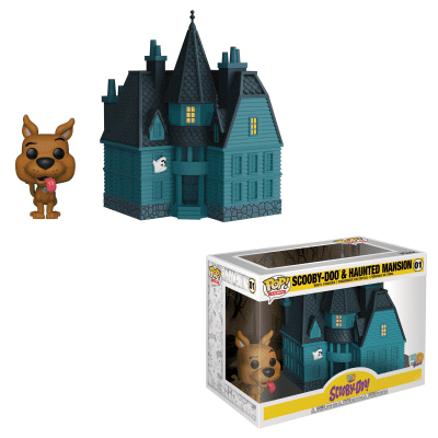 Pop! Town: Scooby-Doo & Haunted Mansion - Scooby-Doo 50 Years FUNKO