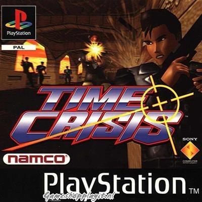 Foto van Time Crisis + G-Con45 PS1