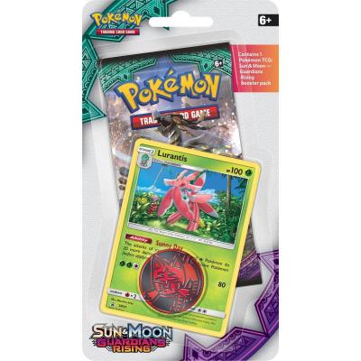 TCG Pokémon Sun & Moon Guardians Rising Checklane Booster - Lurantis POKEMON