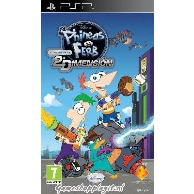 Foto van Phineas & Ferb, Across The Second Dimension PSP