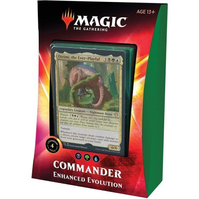 TCG Magic The Gathering Ikoria Lair Of Behemoths Commader - Enhanced Evolution MAGIC THE GATHERING