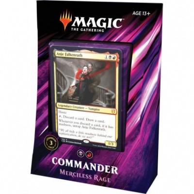 MTG Commander 2019 - Merciless Rage M:TG