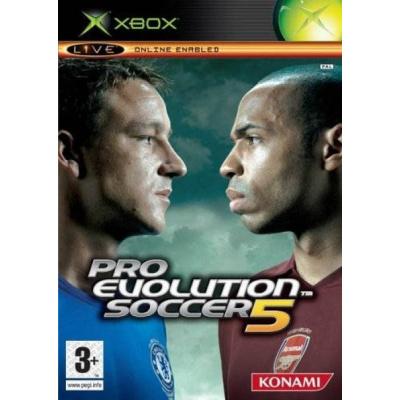 Foto van Pro Evolution Soccer 5 XBOX