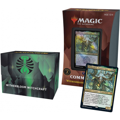 TCG Magic The Gathering Strixhaven Commander Deck - Witherbloom Witchcraft MAGIC THE GATHERING